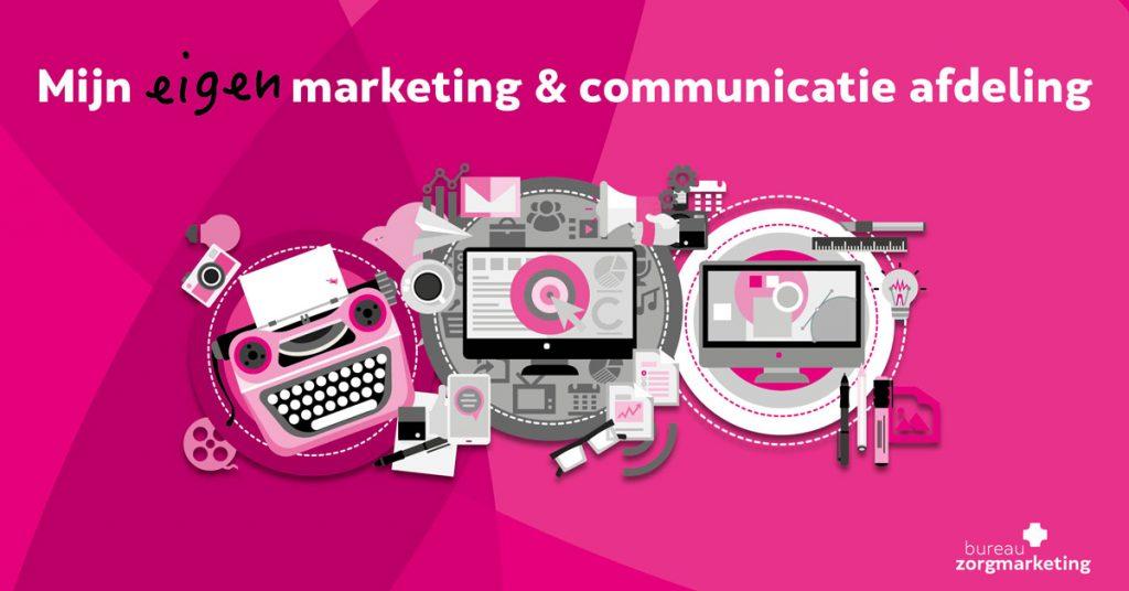 mijn eigen marketing & communicatie afdeling bzm